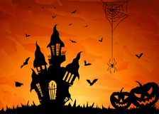 Halloween party royalty free illustration