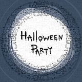Halloween party,  illustration Royalty Free Stock Image