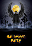 Halloween party illustration Stock Images