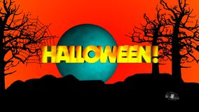 Halloween stock footage