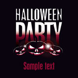 Halloween party Stock Images