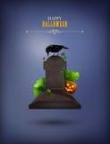 Halloween Party Invitation Stock Photography