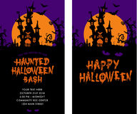 Halloween Party Invitation Royalty Free Stock Photo