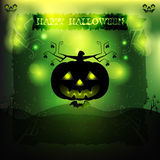 Halloween party invitation Royalty Free Stock Photos
