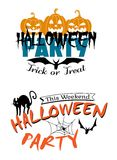 Halloween party invitation Royalty Free Stock Photo