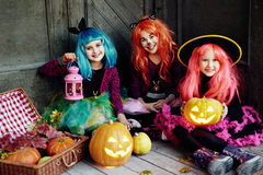 Halloween party royalty free stock photos