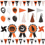 Halloween party pack Royalty Free Stock Images
