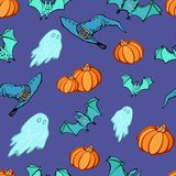 Halloween Party Pattern. Halloween party seamless pattern. Vector illustration, EPS 10 royalty free illustration