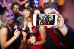 Halloween party Royalty Free Stock Photography