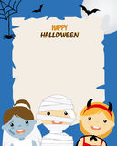 Halloween party poster Stock Photo