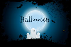 Halloween Party Poster. Holiday Card. Royalty Free Stock Photography