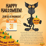 Halloween Party Poster Templates Stock Photo