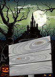Halloween party poster Stock Images