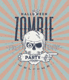 Halloween party poster Royalty Free Stock Photography