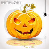 Halloween Party with pumpkin Royalty Free Stock Photo