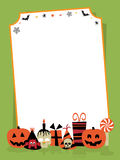 Halloween party sign Royalty Free Stock Photos