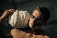Halloween Partyjny i krwisty horror obrazy royalty free