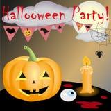 Halloween partyjny nowy Fotografia Royalty Free