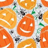 halloween patern ilustracja wektor