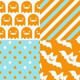 Halloween-patronen Royalty-vrije Stock Afbeeldingen