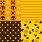 Halloween-patronen vector illustratie