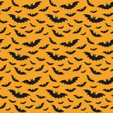 Halloween-patroon met knuppels stock illustratie