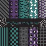 Halloween-patroonreeks 13 stock illustratie