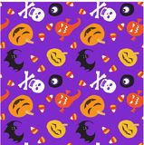Halloween pattern-2 Image stock