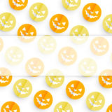 Halloween pattern design Stock Photo