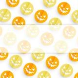 Halloween pattern design Stock Photo