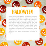 Halloween pattern design Royalty Free Stock Photography