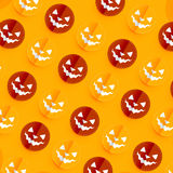 Halloween pattern design Stock Photos