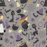 Halloween pattern 02 Stock Photo