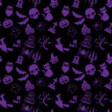 Halloween pattern and icon Stock Photo