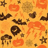 Halloween pattern Stock Photography