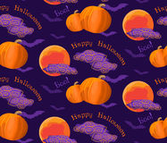 Halloween Pattern Royalty Free Stock Photo