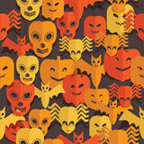 Halloween pattern Royalty Free Stock Image