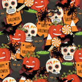 Halloween pattern Stock Photos