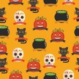Halloween pattern Stock Photography