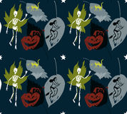 Halloween pattern stars Stock Images