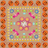 Halloween Pattern Three Stock Photo