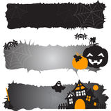 Halloween pattern. Vector illustration. Halloween pattern whith spiders. Vector illustration Stock Image