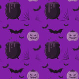 Halloween pattern Stock Images