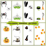 Halloween Patterns Royalty Free Stock Image