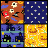 Halloween patterns Stock Photo