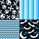 Halloween Patterns Stock Photos