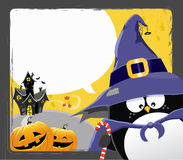 Halloween Penguin Stock Image