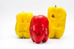 Halloween Pepper (Vegan Halloween) Stock Images