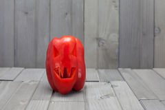 Halloween Pepper (Vegan Halloween) Royalty Free Stock Photos