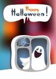 Halloween phantom Royalty Free Stock Image